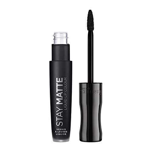 RIMMEL Stay Matte Liquid Lip Color (840) Pitch Black 5,5ml