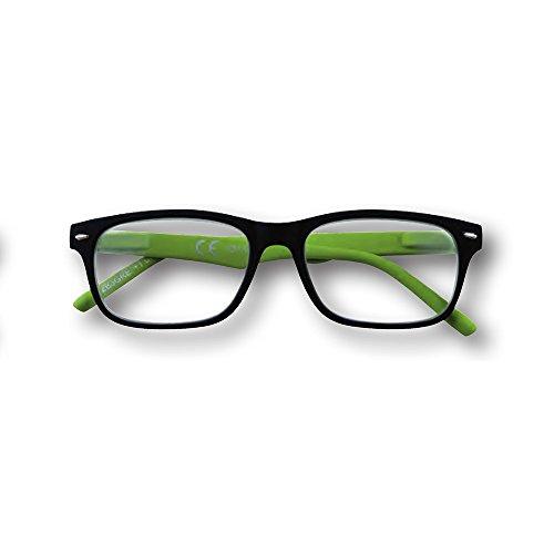 Zippo Lesebrille für Herren und Damen, Unisex, Grün + 2.50 DIOTTRIE 31Z-B3-GRE