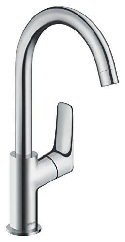 Hansgrohe 71013000Mycube–Grifo de lavabo de baño, cromo, 22cm
