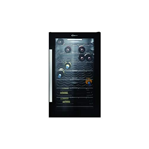 professionnel comparateur Candy CWC154EM Service Wine Cellar-Black Service Cellar-Capacity: 41-Cold… choix