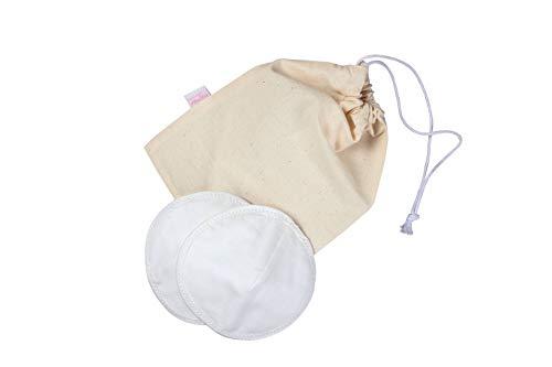 Anita Maternity - Lot de 6 Coussinets d'allaitement en Coton lavables