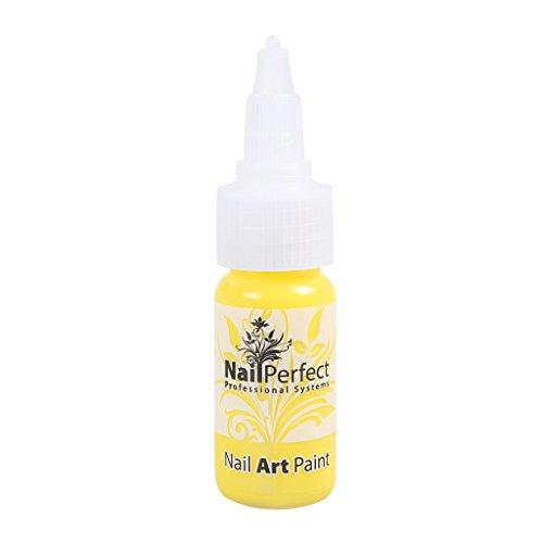 Nail Perfect - #005 Yellow - Nail Art Paint