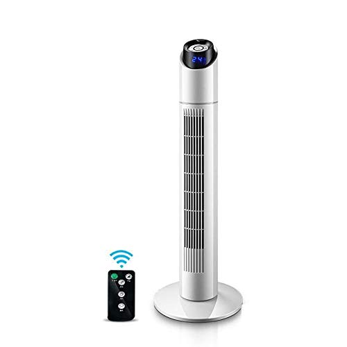 YO-TOKU USB Fans, Oscillerende Tower Fan, Cooling Fan met afstandsbediening, Quiet Tower ventilator met 3 snelheden for Home/Thuis, op school, Bureau Fans USB Gadgets