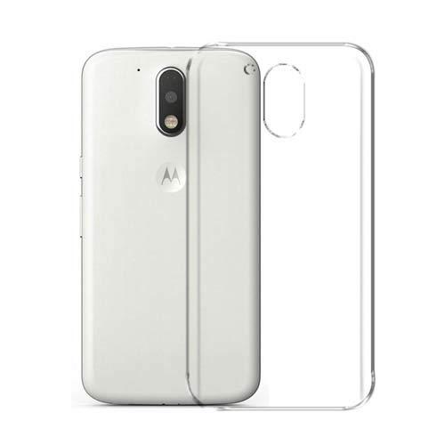 CaseRepublic Transparent Back Cover for Motorola Moto G4 Pl