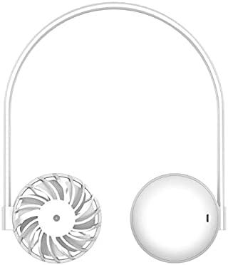 Mini Over item handling ☆ Portable Colorful Night Light Fan Neck supreme Hanging Rechargeable