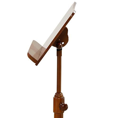 キクタニ譜面台木製高さ調整815~1,145mmFS-Gブラウン