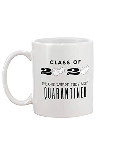 Class of 2020 Kaffeebecher mit Skala
