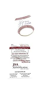 Gleyber Torres New York Yankees Signed Autograph Official MLB Baseball BRONX BOMBERS Inscribed JSA Witnessed Certified