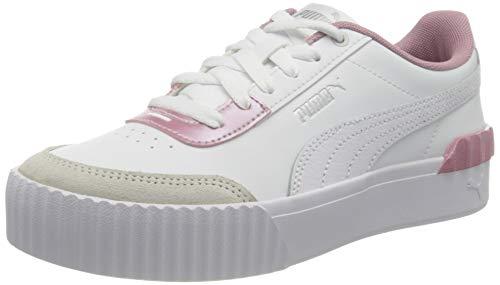 PUMA Damen Carina Lift Pearl Sneaker, Weiß Weiß, 42 EU