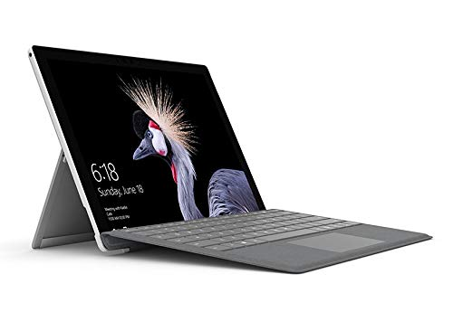 Microsoft Surface Pro, 12,3 Zoll (4 GB RAM, Windows 10 pro, Bluetooth 4.1, silber)
