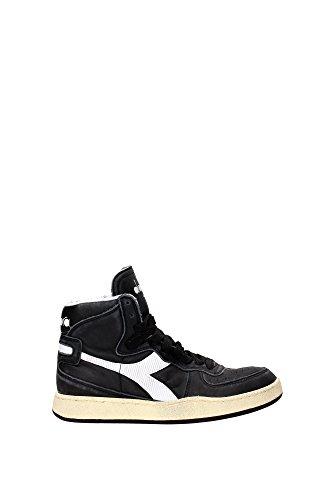 Sneaker Diadora Heritage MI Basket 84 Used Nero-Bianco 158569 (EU 43)