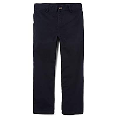 The Children's Place Big Boys' Uniform Chino Pants, New Navy, 16
