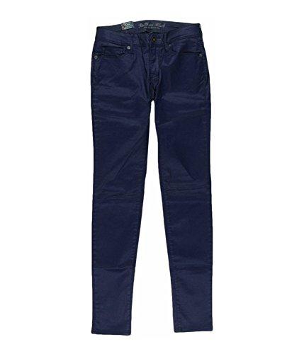 Bullhead Denim Co. Womens Coloreded Skinniest Skinny Fit Jeans, Purple, 1