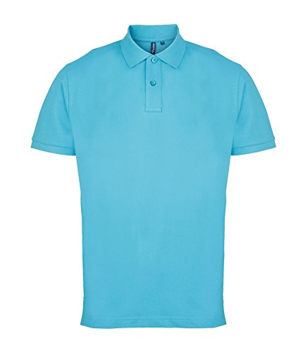 Undercover lingerie AQ010 Asquith & Fox Men's Polo Turquoise 3XL