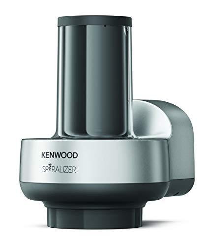 Kenwood Spiralizer KAX700PL Accessorio per impastatrici planetarie, Plastic, Silver