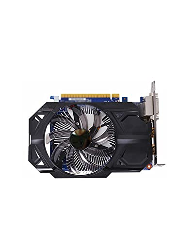 GUOQING Enfriamiento de Doble Ventilador Fit For GIGABYTE GTX 750 ti 2GB Tarjeta gráfica 128Bit GDDR5 Tarjetas de Video Fit For nVIDIA Geforce GTX 750Ti 2 GB