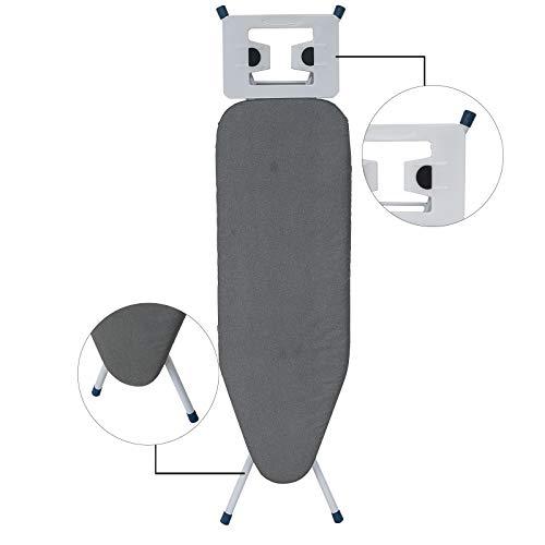 WOLTU BGT01gr Bügeltisch Bügelbrett für Dampfbügeleisen höhenverstellbar - 4
