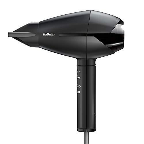 BaByliss 6720E 2300W Haartrockner, Schwarz, 1,8 m, AC, Einfarbig, Italien, 2300 W