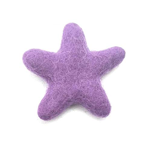 Wool Felts Felt Sewing Crafts DIY Star Shape Handmade for Christmas Tree Indoor Decoration Red Love Ball Interior Needle Felting Art Projects, Garlands Valentine's