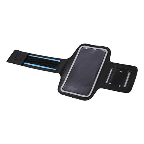 Funda para Brazalete de Neopreno Deportivo para Correr Resistente al Agua con Tira Reflectante para iPhone 6 Plus