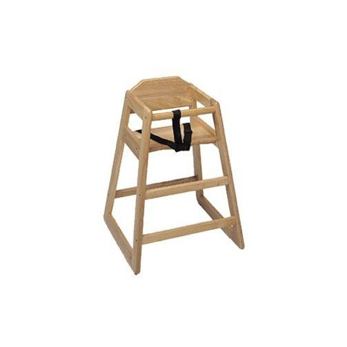 Update International WD-HC High Chair Natural (K.D.)
