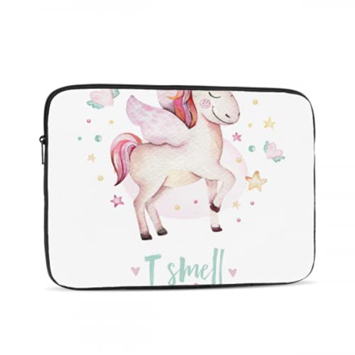 Mac Book Pro Accessories Cute Unicorn Rainbow Stars Laptop Case Mac Multi-Color & Size Choices10/12/13/15/17 Inch Computer Tablet Briefcase Carrying Bag