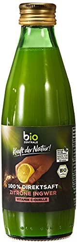 biozentrale Zitronen Ingwer Saft, 250 ml, bio., 250 ml