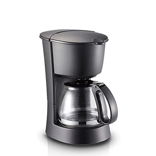 MJYDQ Cafetera casera pequeña automática Mini cafetera de Goteo Americano para Hacer té té Agua Caliente Multifuncional