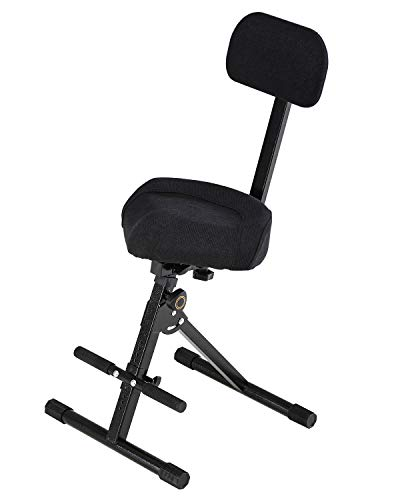 FITUEYES Drummer Thrones Donner Adjustable Drum Throne Bike...