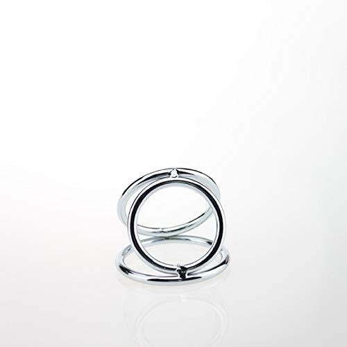 WWJ LE Diámetro 45/50 mm Exquisito bloqueo Rīng Còckring para ejercicio físico, hecho de acero inoxidable caminadora camiseta Yoga Mat (tamaño: S/45 mm)