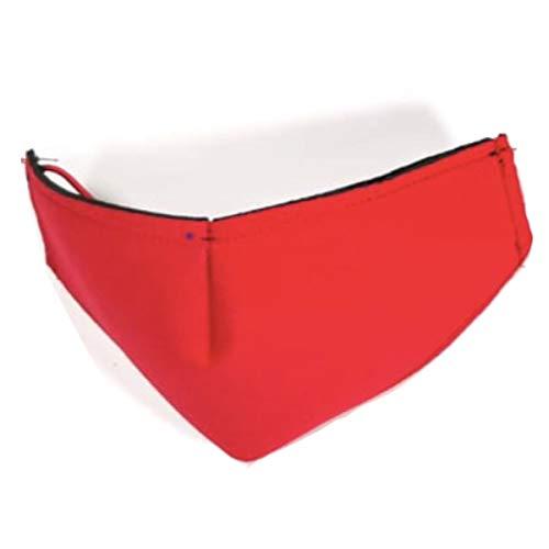 Cubrebocas de Neopreno Modelo A Escoger Colores Lisos Azul Blanco Gris Negro Rojo Rosa Reutilizable…