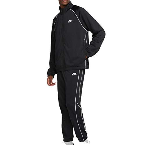 NIKE Sportswear Traje de baño, Noir/Blanc/Blanc, XL para Hombre