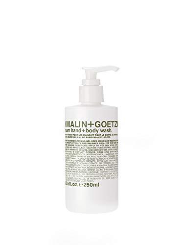 Malin + Goetz Hand + Body Wash, Rum, 8.5 Fl Oz