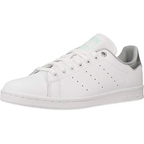 Adidas Stan Smith W White Silver Metallic Clear Mint 42