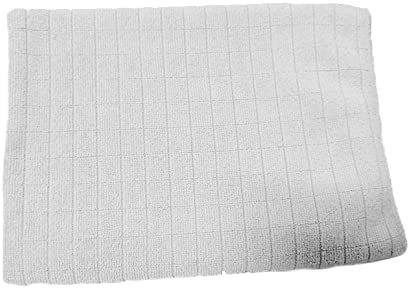 (Grey) Microfiber Cleaning Cloth, Size 40x60cm (15.7