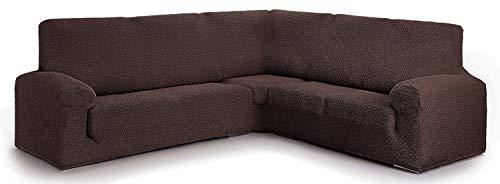 Funda para sofá rinconero Hecho de Tejido Adaptable Spongy tamaño Extra (hasta 600 cm) - Color 07