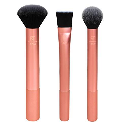Real Techniques Conjunto de pincéis de maquiagem Flawless Base 2.0 (91568)