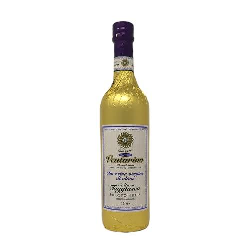 Frantoio Venturino, Natives Olivenöl Extra aus 100 {20e1b4b4fcae80102f23a133c47000b6831ff7ede9fe9a10f492c2a03053617b} Taggiasca Oliven, aus Italien, Italienisches Olivenöl, Ligurien, 750 ml