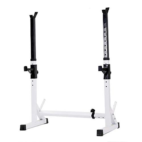 ZXCV Squat Rack Portatile, Supporto per Bilanciere Regolabile Ideale per Esercizi di Potenziamento Muscolare, Squat e con Panca