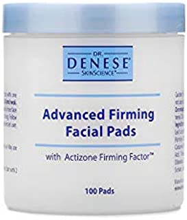 Dr. Denese SkinScience Advanced Firming Facial Pads Exfoliate & Deeply Cleanse Pores with Actizone Firming Factor, Glycoli...