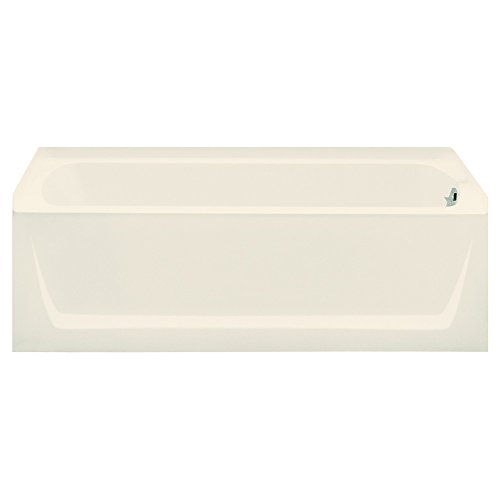 STERLING 71121120-96 Ensemble Bathtub, 60-Inch x 32-Inch x 18-Inch, Right-Hand, Biscuit -  Sterling Plumbing