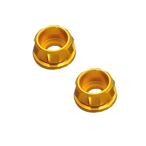 デイトナ D91927 PREMIUM ZONE キャップボルトカラー M8 ゴールド 2個入り 工具 メンテナンスグッズ