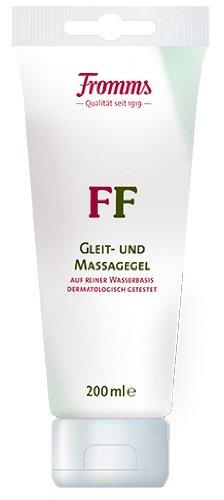 Fromm's FF Gleit- und Massagegel auf Wasserbasis 200ml Tube. 200 ml