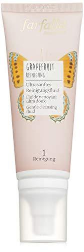 farfalla Grapefruit Reinigung - Ultrasanftes Reinigungsfluid - 100% zertifizierte Naturkosmetik, 75 ml