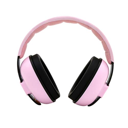 MILISTEN Baby Ear Protection Newborn Noise Reduction Earmuffs Noise Cancelling HeadPhones for Toddlers Children Kids Sleeping Hearing Damage Pink