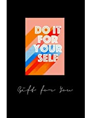 xkdsiue346 do it for yourself - notebook 120pages x