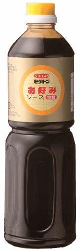 イチミツボシ ビクトンお好み焼きソース全糖 1L×3本