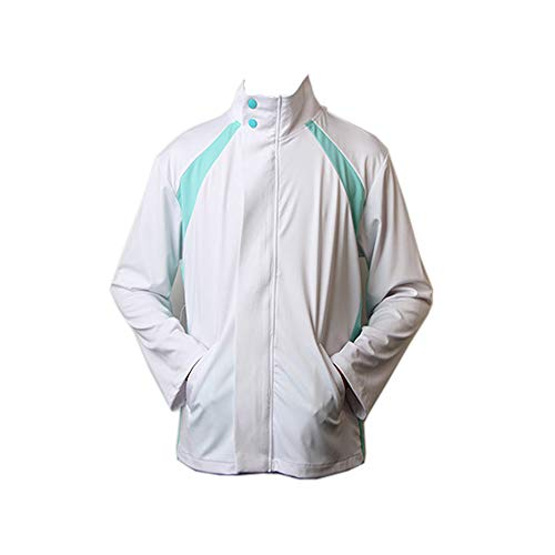 BellaPunk Oikawa Tooru Cosplay Chaqueta de hombre Haikyuu Sportswear Aoba Johsai High School Volleyball Club Uniform Disfraz