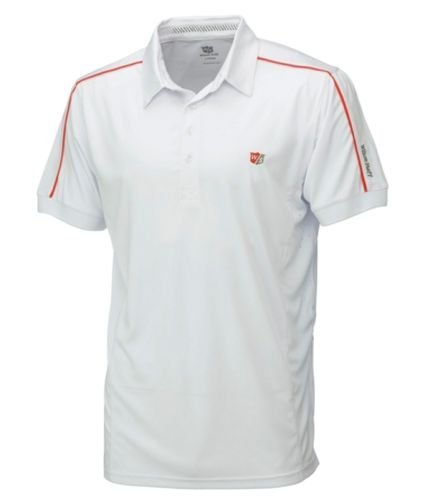 WILSON Staff pour Hommes Performance Polo 2015 - Blanc, Small