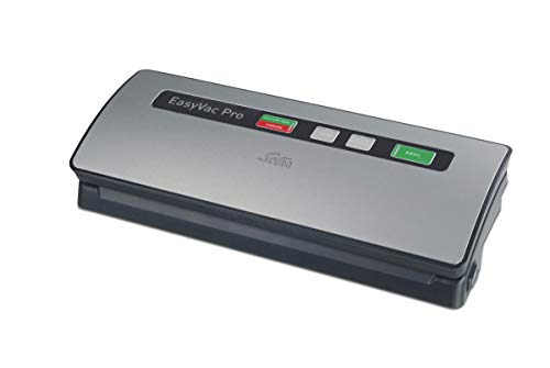 Solis Vakuumiergerät, Für trockene, feuchte und empfindliche Lebensmittel, Metal, EasyVac Pro